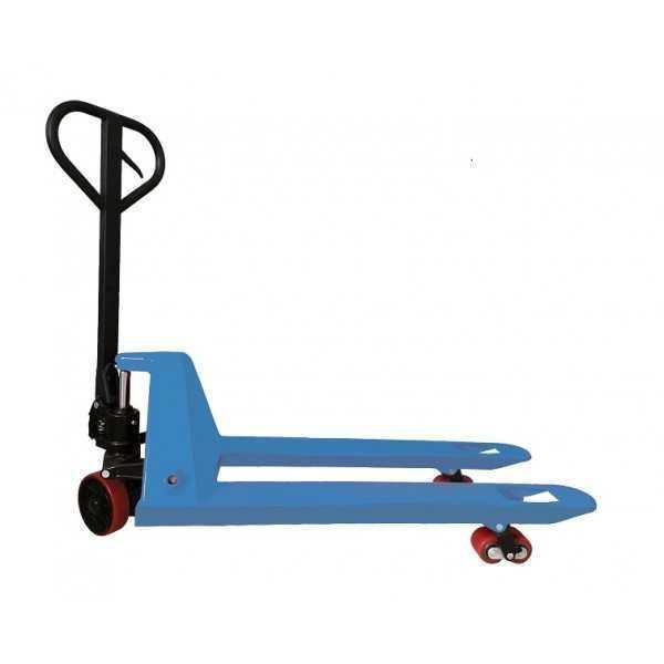 Duurzame handpalletwagen, 2500 kg, standaard 1150 x 550 mm, laagste prijs!
