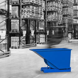 Eenvoudig afval scheiden met kiepcontainers