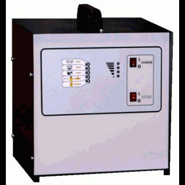 Acculader voor tractiebatterij 1220E1, 12 volt, 20 ampère, 110-130 ampère-uur