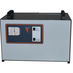 Acculader voor tractiebatterij 12100E2, 12 volt, 100 ampère, 550-650 ampère-uur