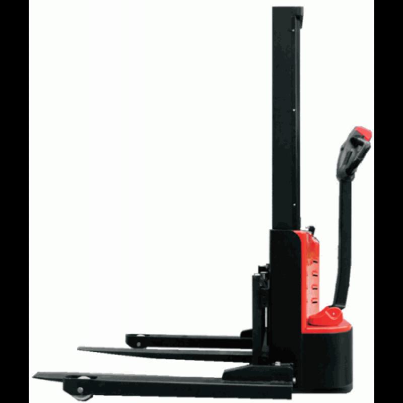 Elektrische Breedspoorstapelaar Es10 22mm 1000 Kg Vanaf 1600 Mm