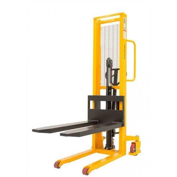 Manuele stapelaar, LH=1600mm, cap 1000kg